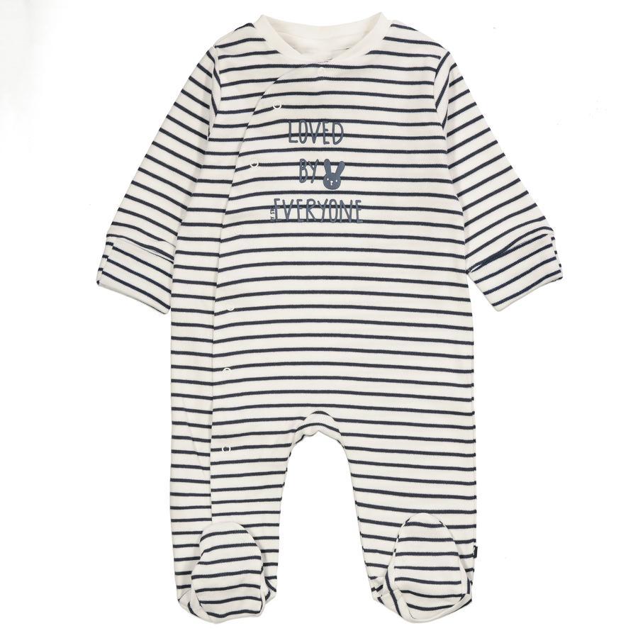 STACCATO Pyjama 1tlg. offwhite gestreift