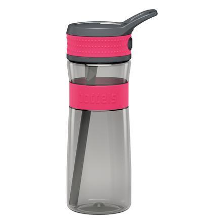 boddels® Trinkflasche EEN  rot / grau 600 ml ab dem 3+ Jahr