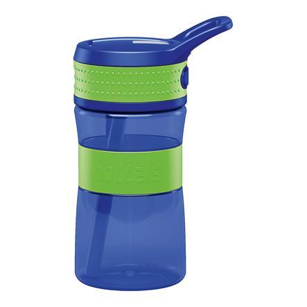boddels ® Láhev na pití EEN zelená / modrá 400 ml od 3+ let