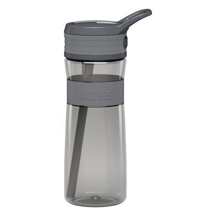 boddels® Trinkflasche EEN  hellgrau / grau 600 ml ab dem 3+ Jahr