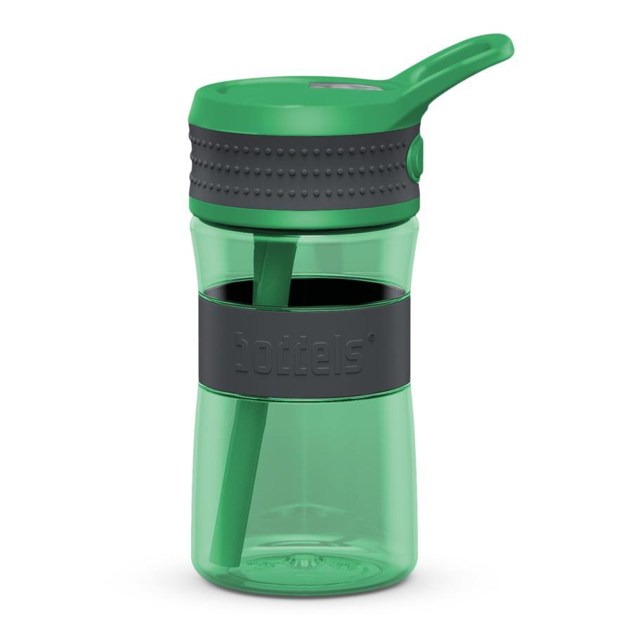 boddels® Trinkflasche EEN grau / grün 400 ml ab dem 3+ Jahr