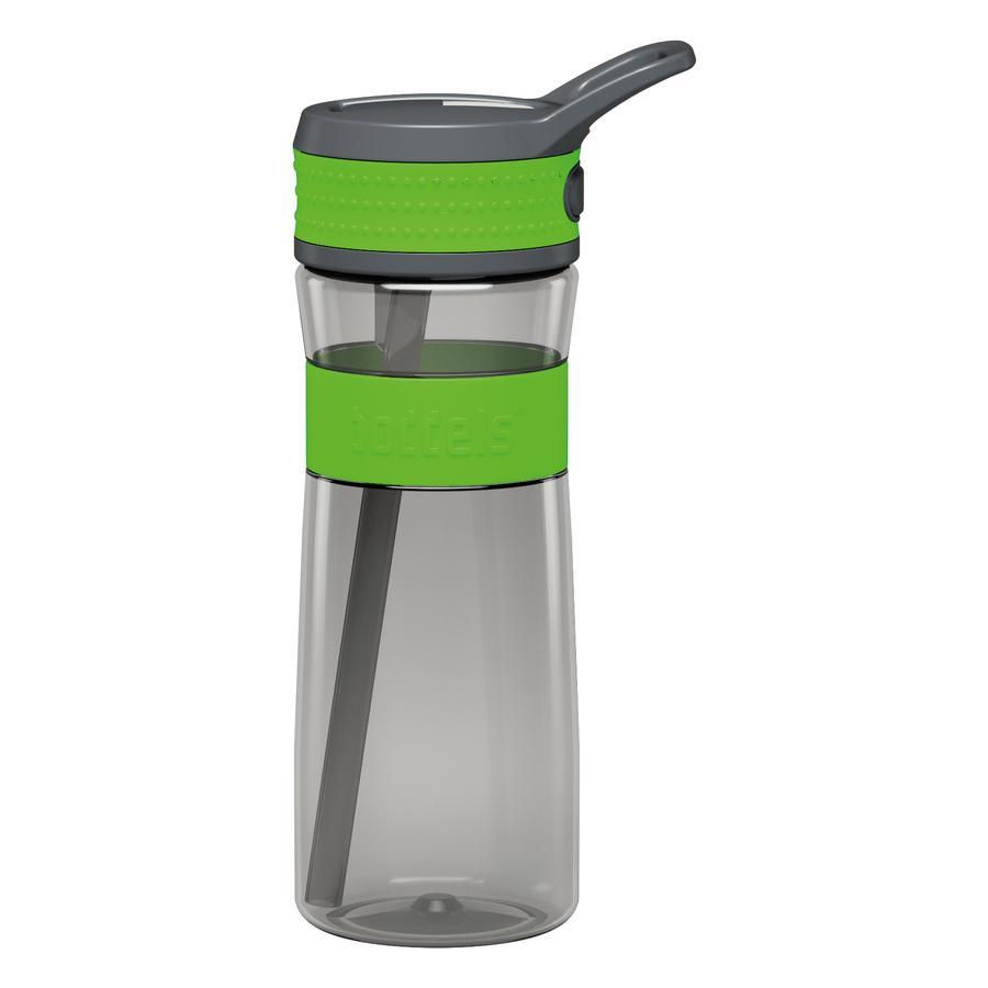 boddels® Trinkflasche EEN  grün / grau 600 ml ab dem 3+ Jahr