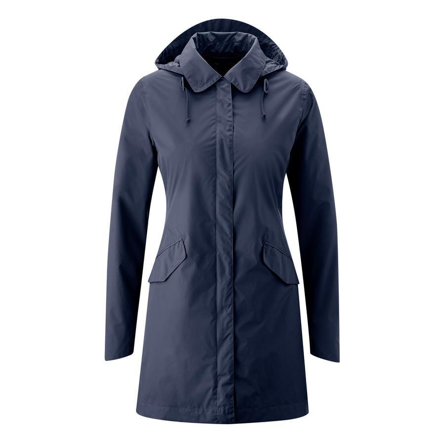 mamalila Manteau de grossesse de pluie Dublin bleu marine