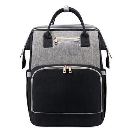 Stella Bag Wickelrucksack Premium Schwarz Grau