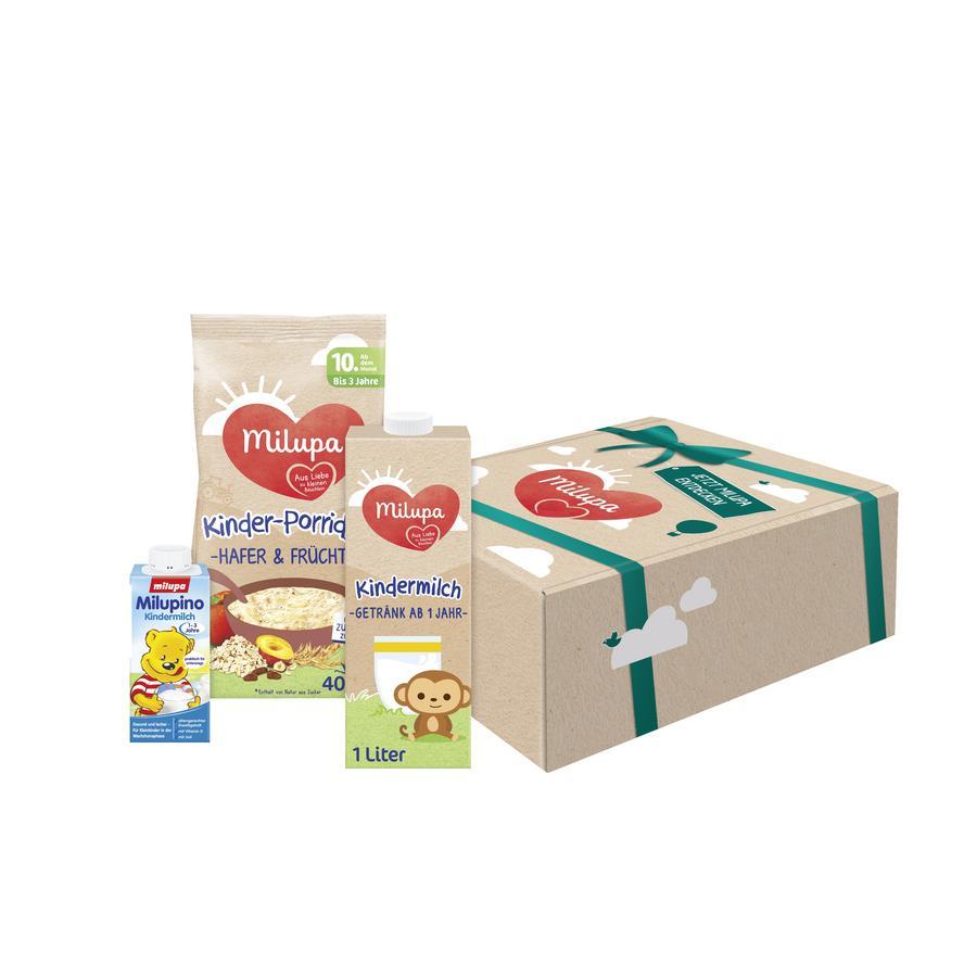 Milupa Kleinkind-Paket Online Exklusives ab dem 10. Monat + Milupino Kindermilch Gratis