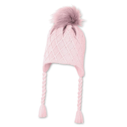 Sterntaler Gorro de punto rosa