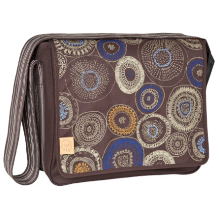 LÄSSIG Wickeltasche Casual Messenger Bag Fossil choco