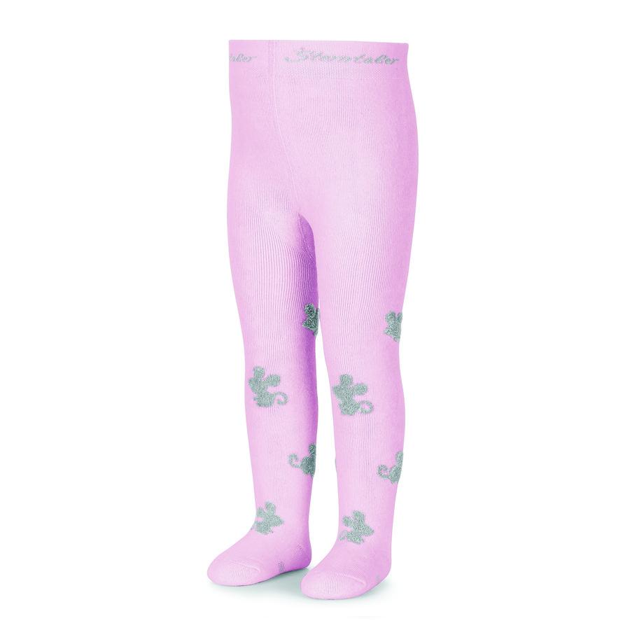 Sterntaler tights mus rosa