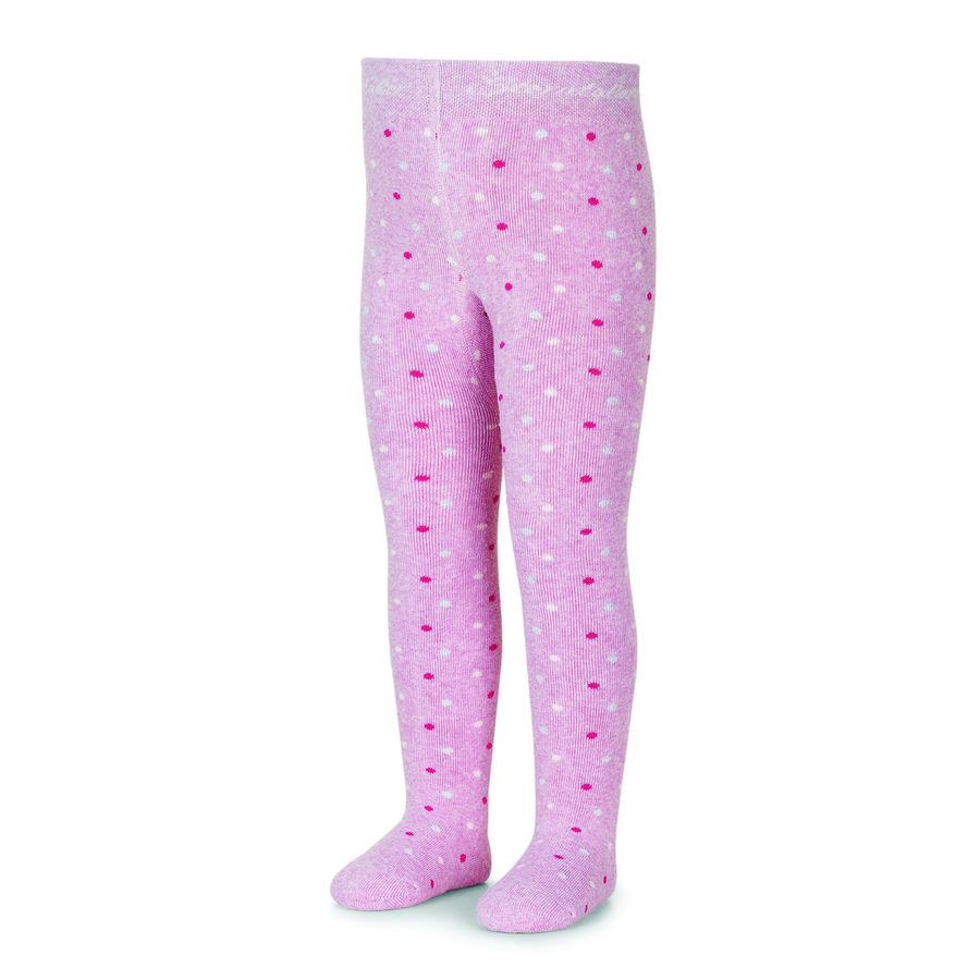 Sterntaler Strumpfhose Tupfen rosa melange