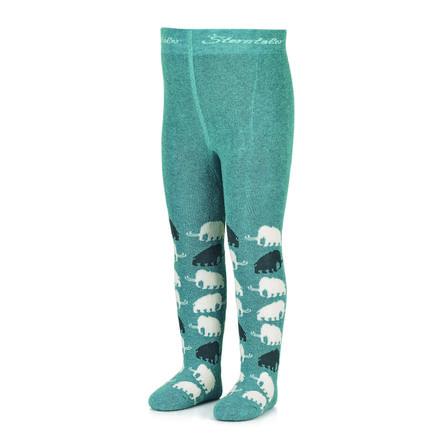 Sterntaler Panty Mammoth donker turkoois