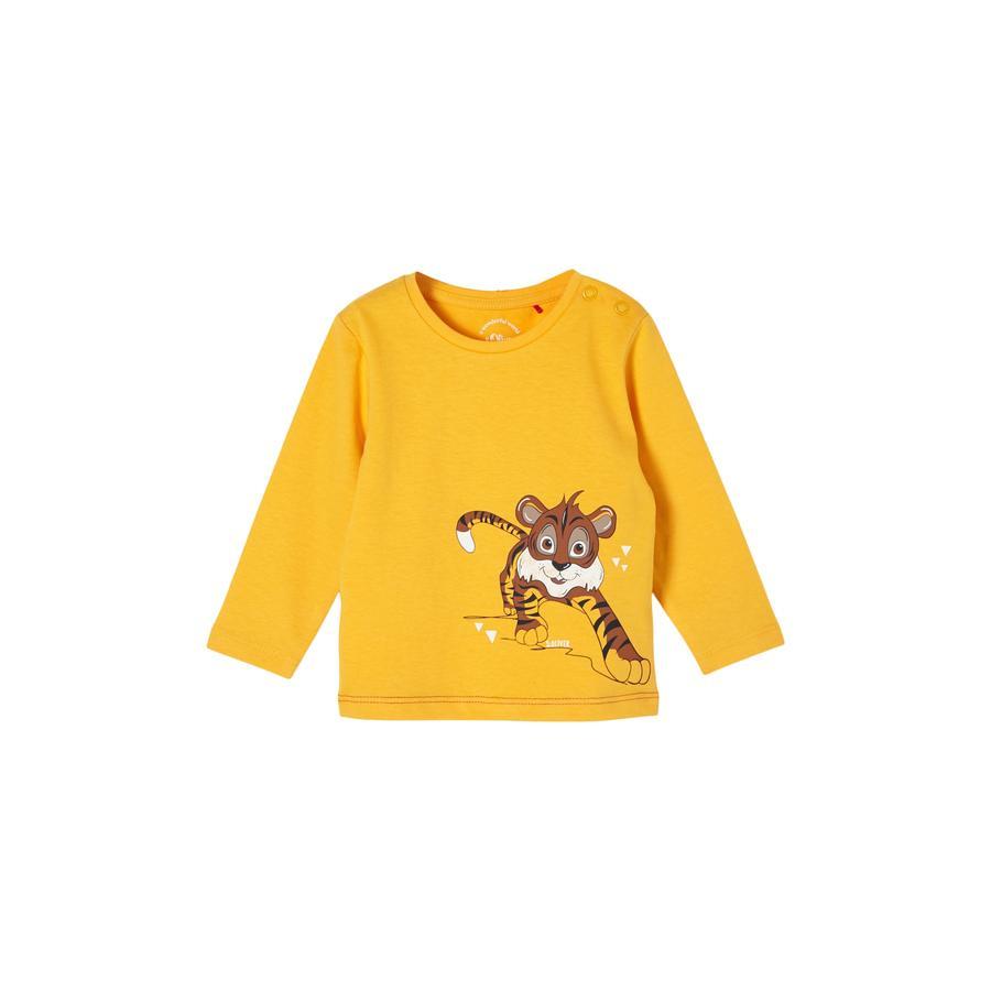 s.Oliver Langarmshirt yellow