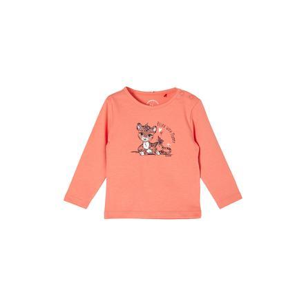 s. Olive r Pitkähihainen paita light orange