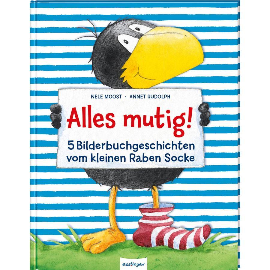 Esslinger Der kleine Rabe Socke: Alles mutig! 5 Bilderbuchgeschichten