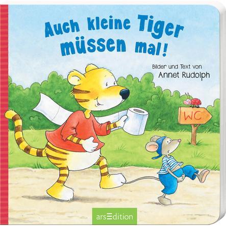 arsEdition Auch kleine Tiger müssen mal!