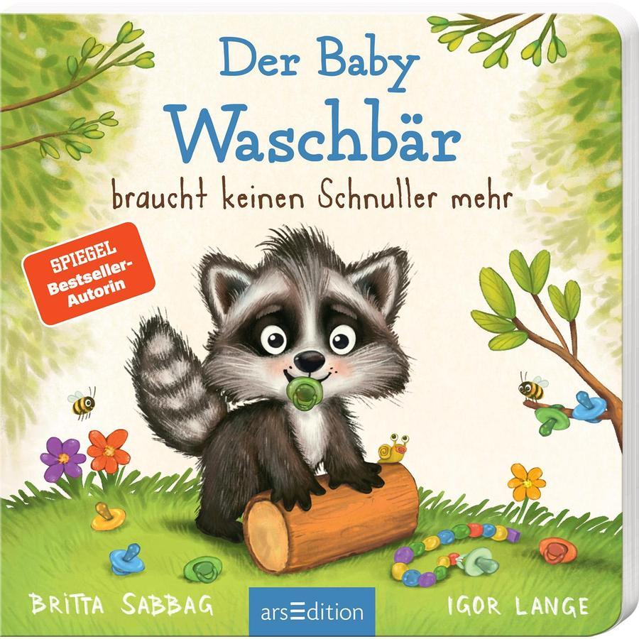 arsEdition Der Baby-Waschbär braucht keinen Schnuller mehr!