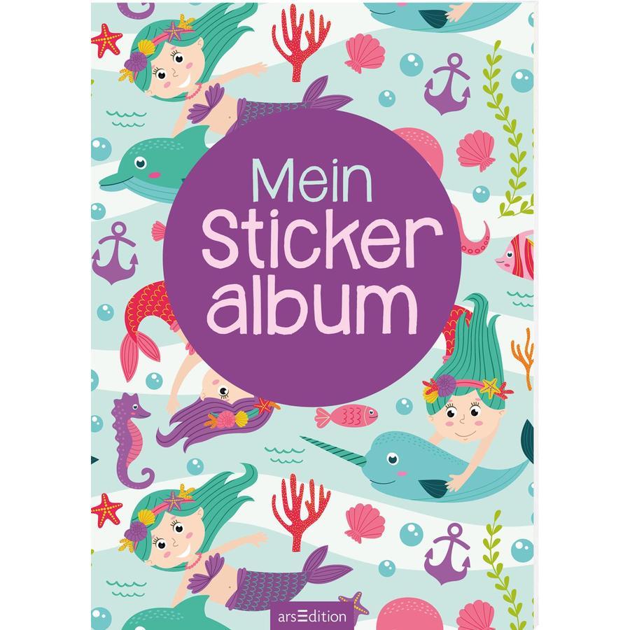 arsEdition Mein Stickeralbum - Meerjungfrauen