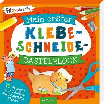 arsEdition Mein erster Klebe-Schneide-Bastelblock