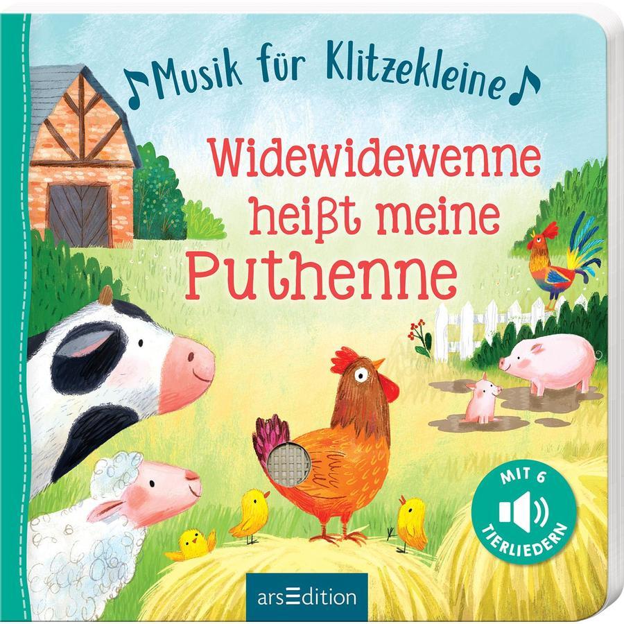 arsEdition Musik für Klitzekleine - Widewidewenne heißt meine Puthenne
