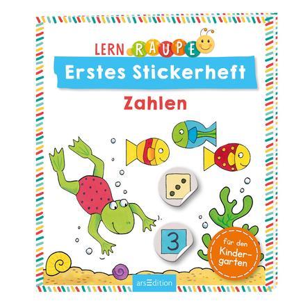 arsEdition Lernraupe Erstes Stickerheft - Zahlen