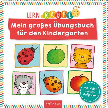 arsEdition Lernraupe Mein großes Übungsbuch für den Kindergarten