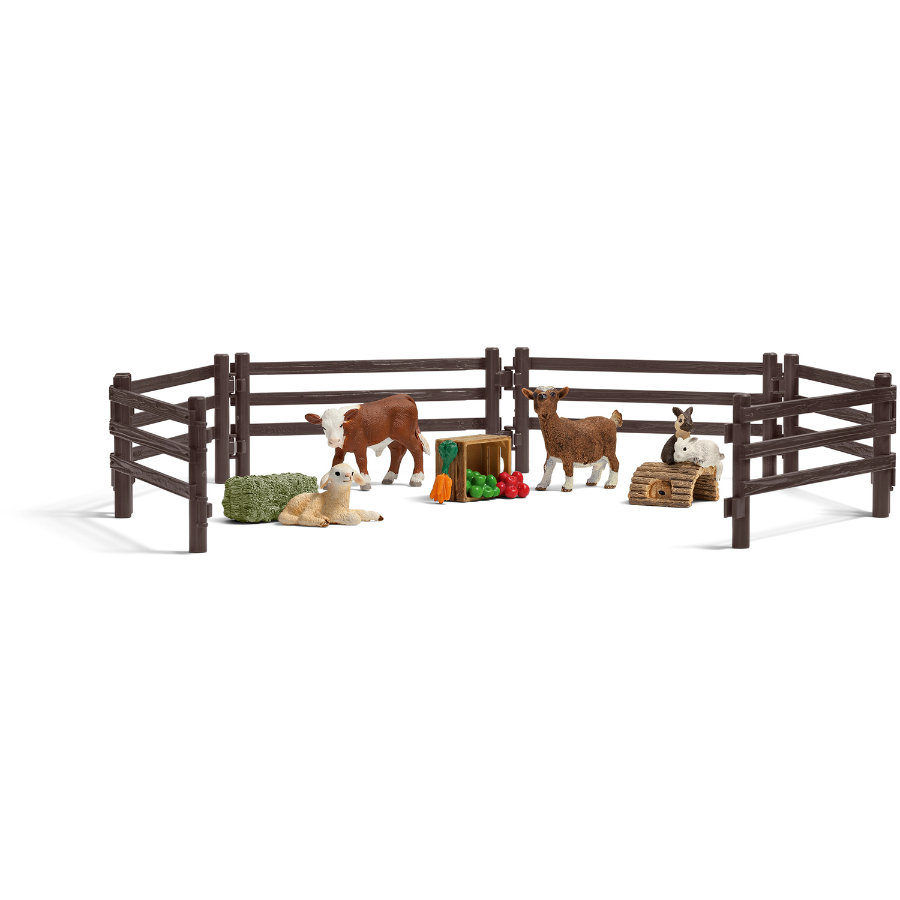 SCHLEICH Farm Life legesæt - børnezoo 21052