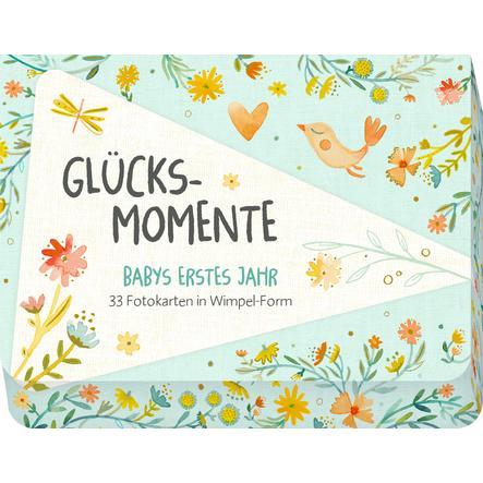 SPIEGELBURG COPPENRATH Caja de tarjetas fotográficas: Momentos felices - primer año del bebé