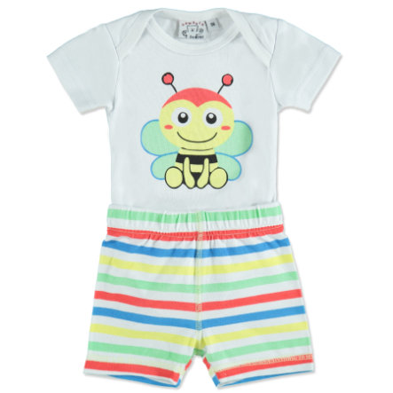 MAX COLLECTION Baby Body + Short BIENE weiß
