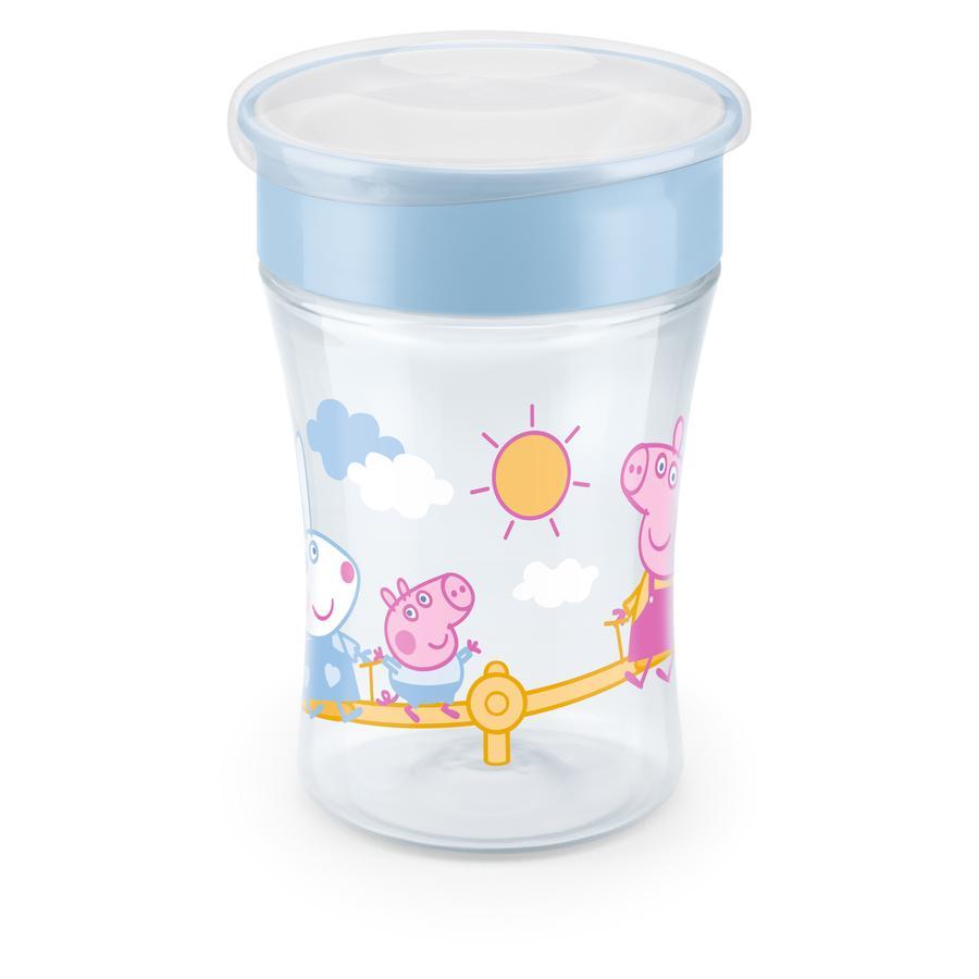 NUK Trinklernbecher Magic Cup Peppa Pig mit 360°-Trinkrand ab dem 8. Monat