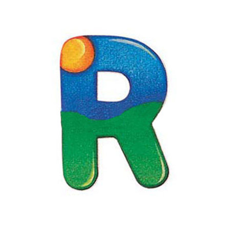 SELECTA Wooden Letter R