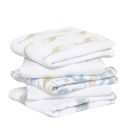 aden + anais™ essential s burp cloths natural history 5-pack