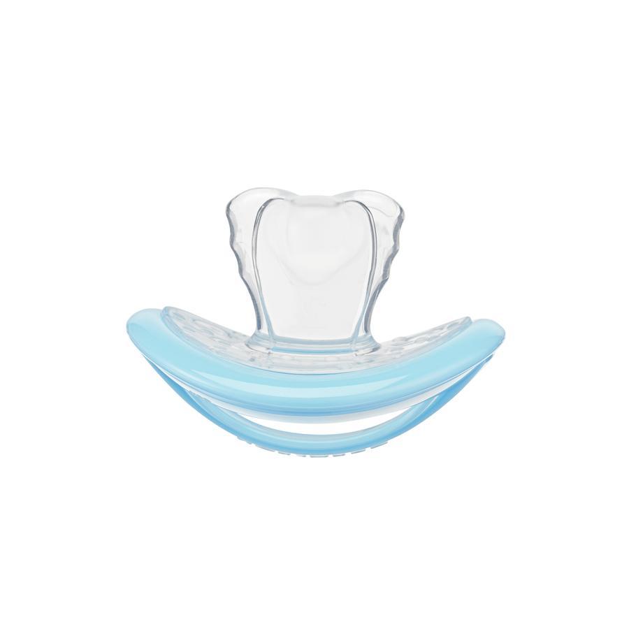CURAPROX baby Schnuller Gr. 1 ab dem 7. Monat in pastell blau, single