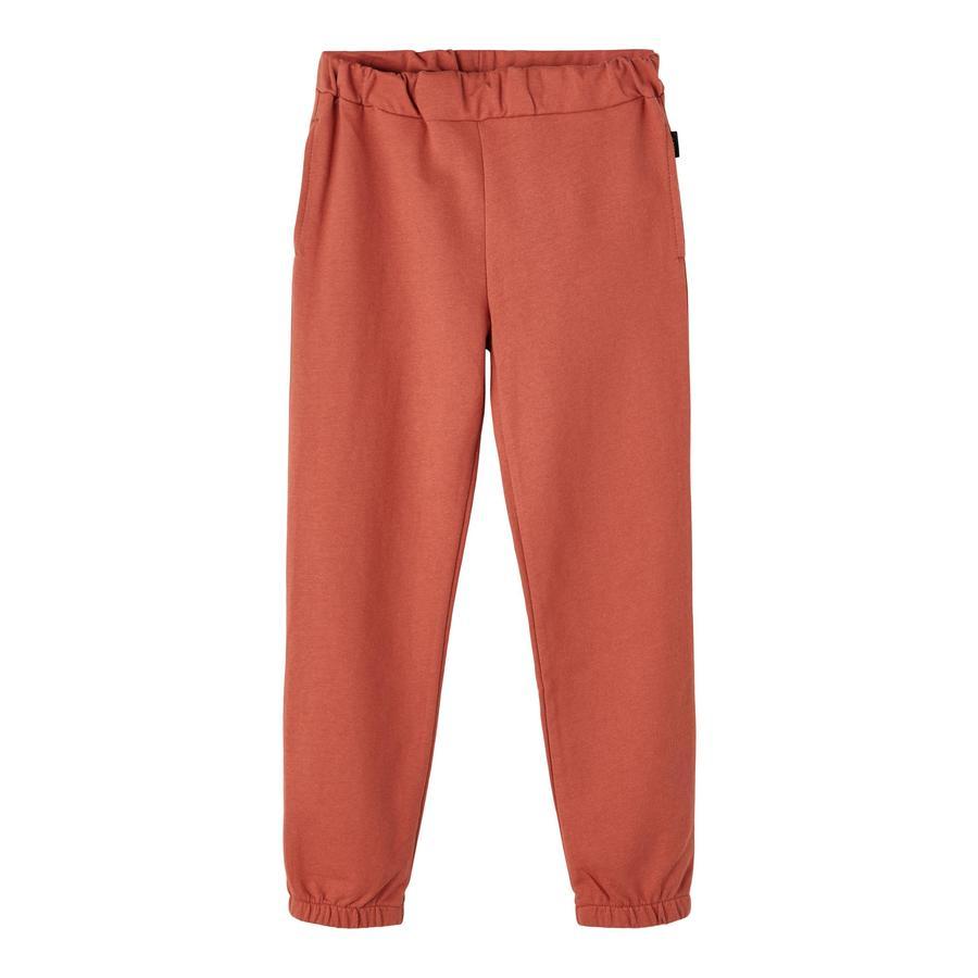 name it Pantalon de survêtement rouge étrusque