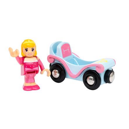 """BRIO® Disney Princess Dornröschen """"Aurora"""" mit Waggon"""