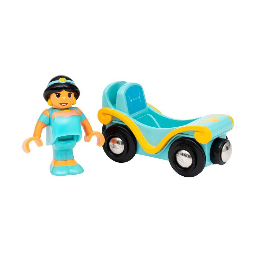 BRIO® Accessoire pour circuit train Disney Princess Jasmine wagon 33359