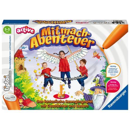 Ravensburger tiptoi® ACTIVE Mitmach-Abenteuer
