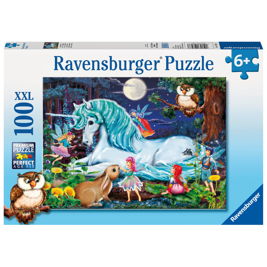 Ravensburger Puzzle XXL 100 Teile - Im Zauberwald