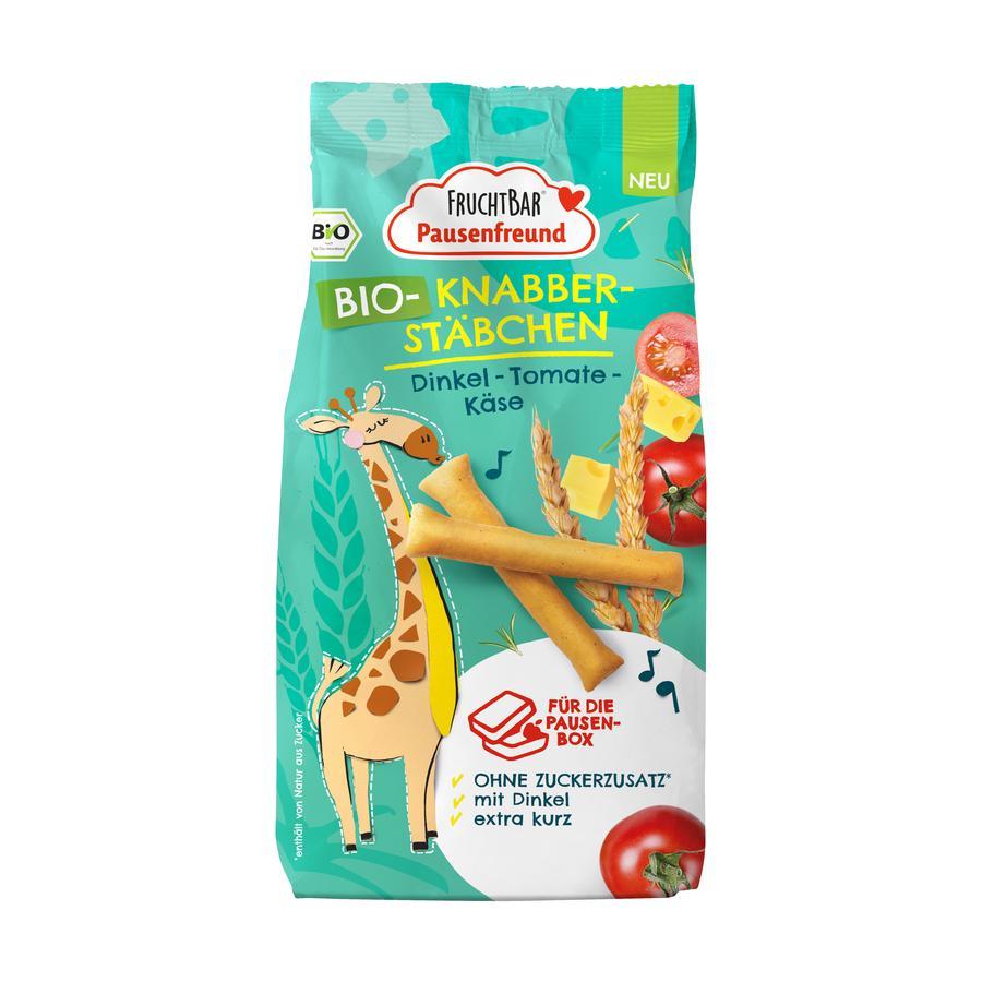 FRUCHTBAR® Pausenfreund Bio-Knabber-Stäbchen Dinkel-Tomate-Käse 100 g ab dem 3. Jahr
