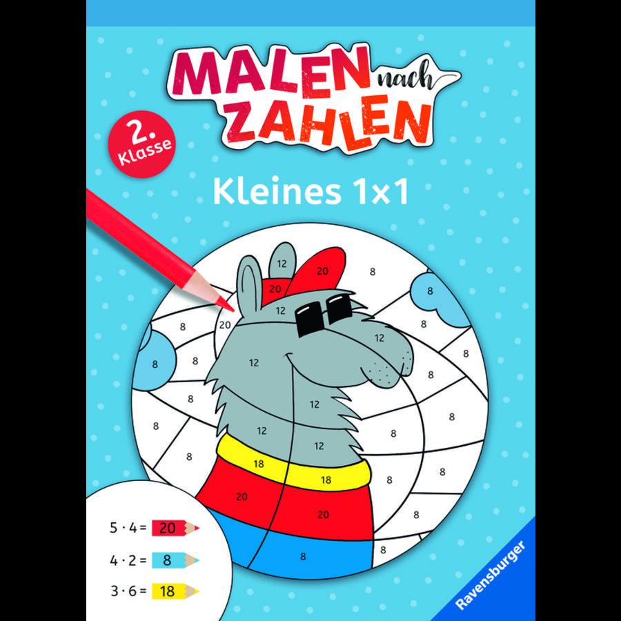 Ravensburger Malen nach Zahlen, 2. Klasse: Kleines 1 x 1
