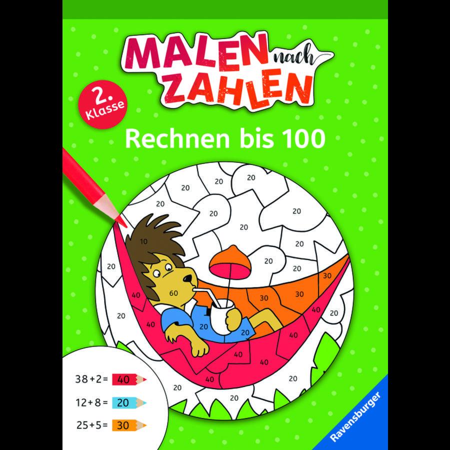 Ravensburger Malen nach Zahlen - 2. Klasse: Rechnen bis 100