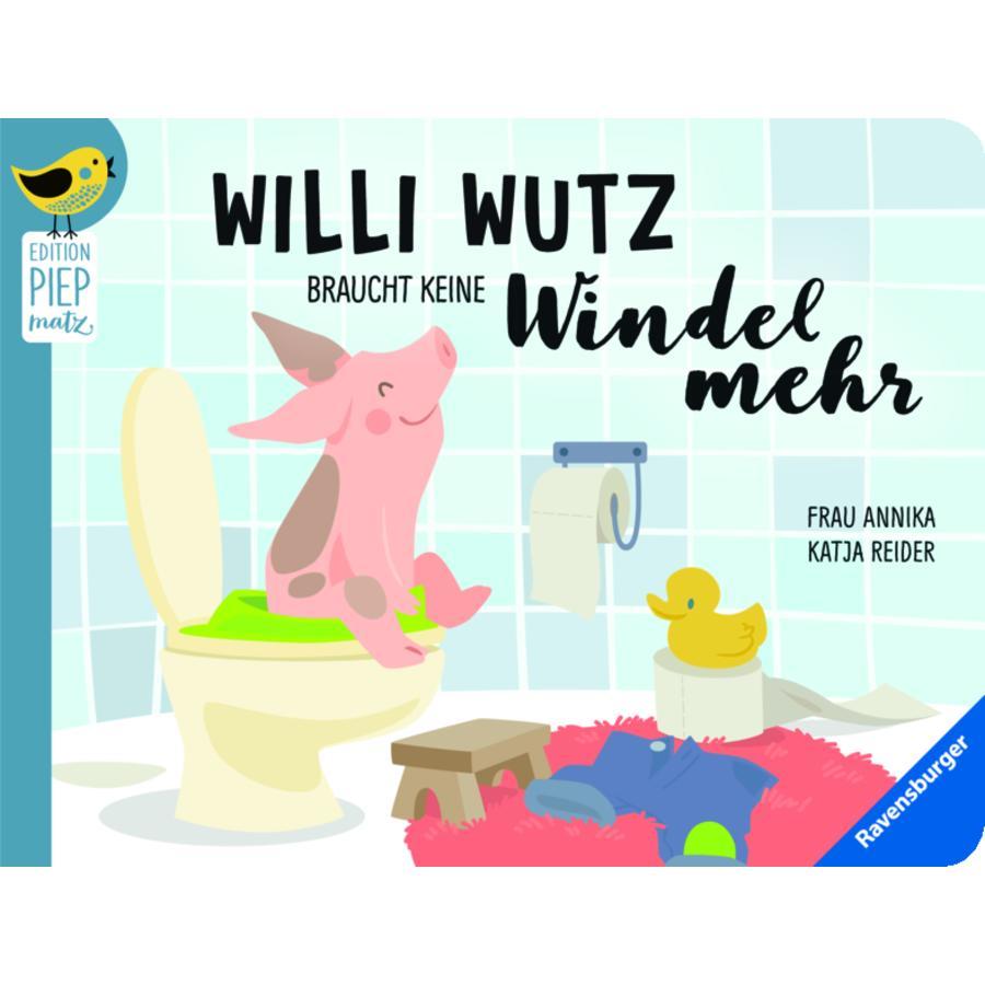Ravensburger Willi Wutz braucht keine Windel mehr