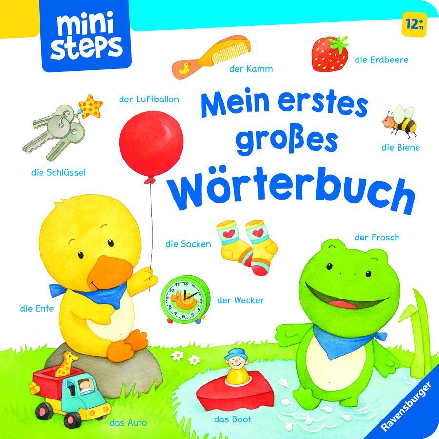 Ravensburger ministeps® Mein erstes großes Wörterbuch