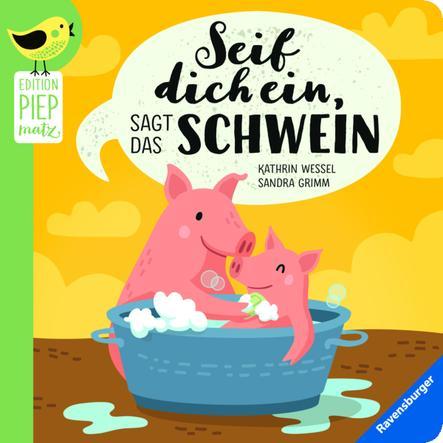 Ravensburger Seif dich ein sagt das Schwein
