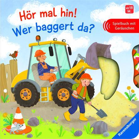 Ravensburger Mitmachbuch Hör mal hin! Wer baggert da?