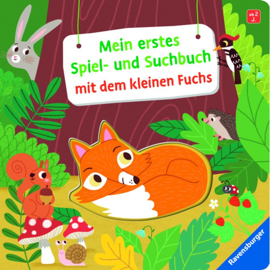 Ravensburger Mein erstes Spiel- und Suchbuch mit dem kleinen Fuchs