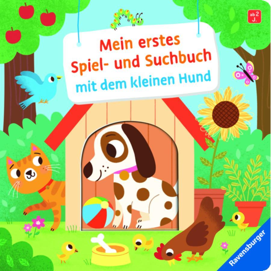 Ravensburger Mein erstes Spiel- und Suchbuch mit dem kleinen Hund