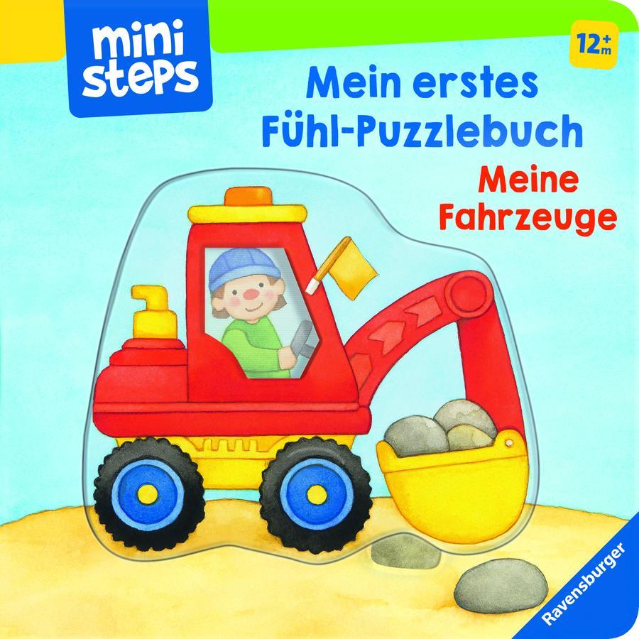Ravensburger ministeps® Mein erstes Fühl-Puzzlebuch: Meine Fahrzeuge