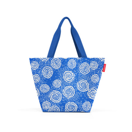 reisenthel® shopper M batik strong blue
