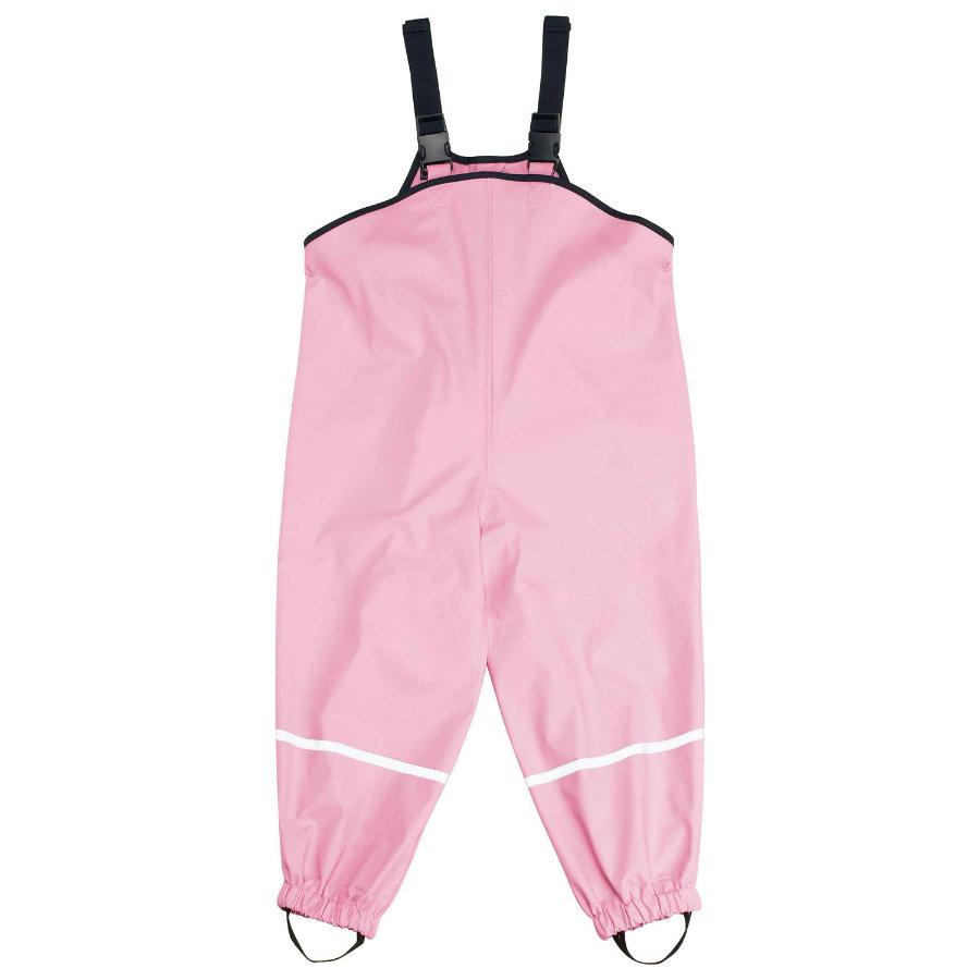 PLAYSHOES Rain Pants with Suspenders rose