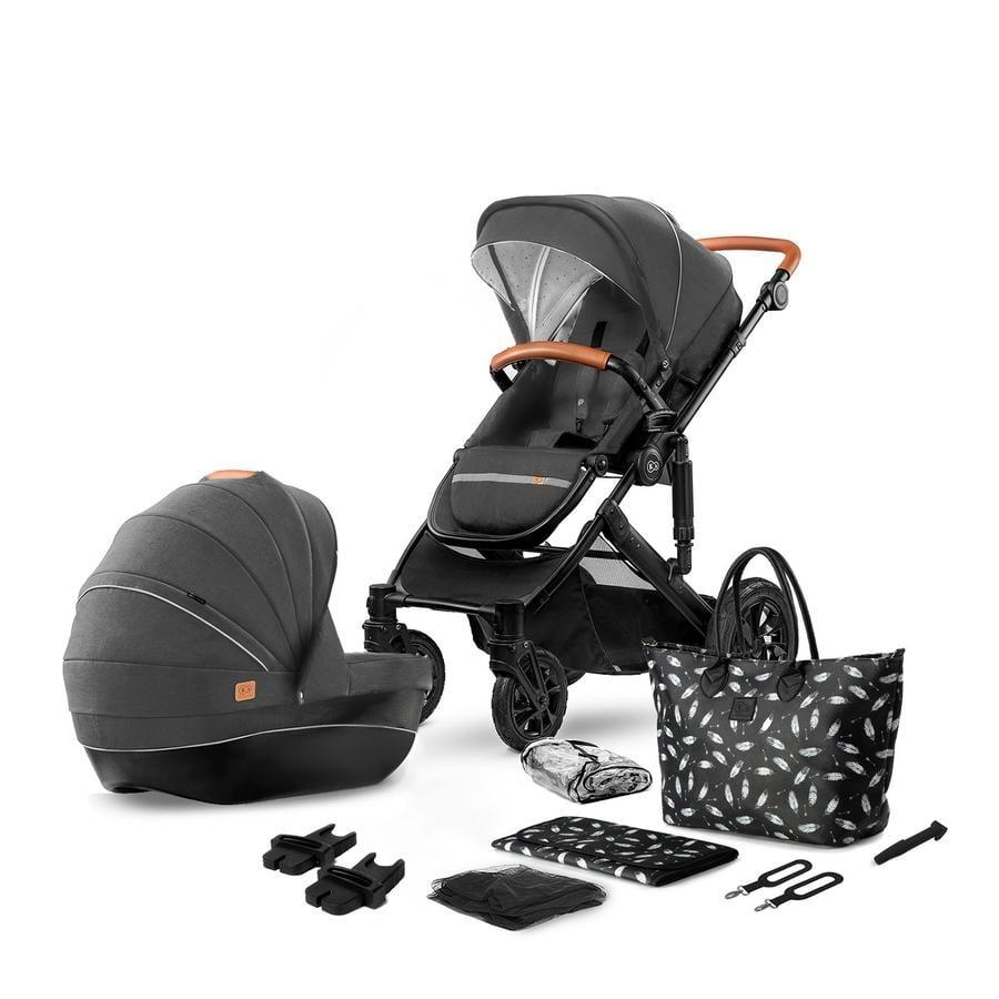 Kinderkraft Kinderwagen Prime 2020 2 in 1 Black Anthracite