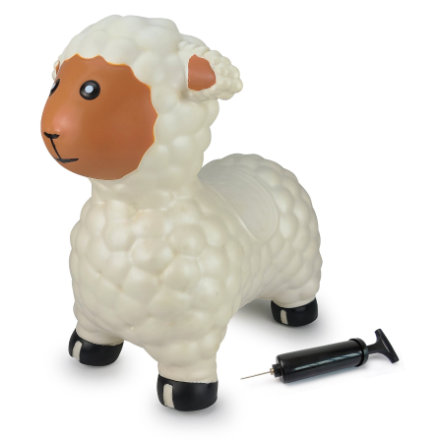 JAMARA Hüpftier Schaf inkl. Pumpe, weiß